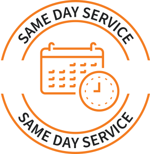 same-day service icon
