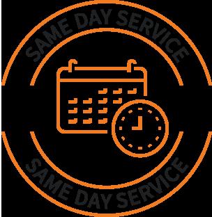 same-day service icon